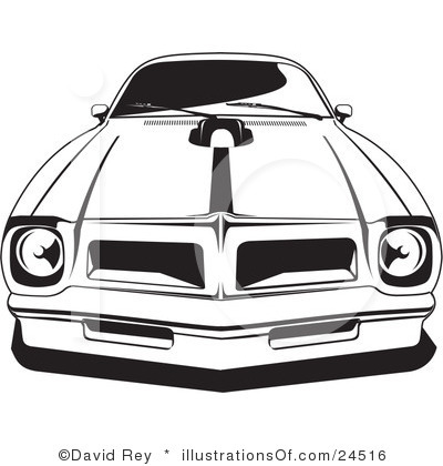 Free Muscle Car Clipart.
