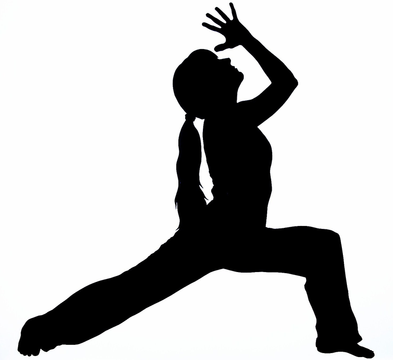 Download Free png Free yoga clipart silhouette.