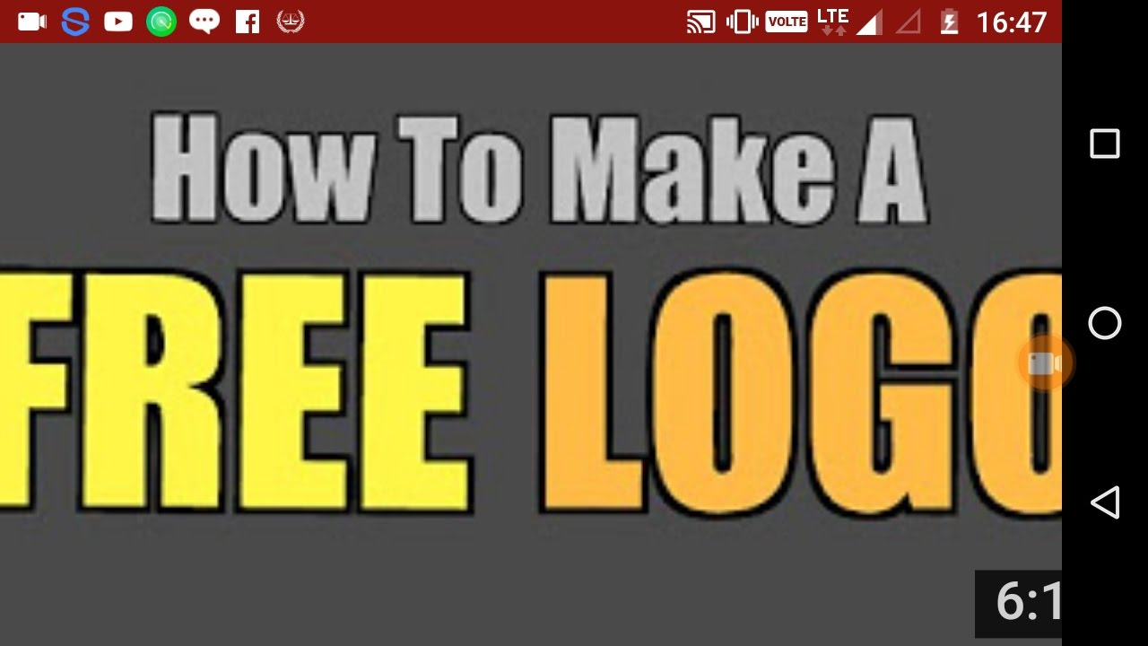 Best logo maker for YouTube channel for android##best logo.