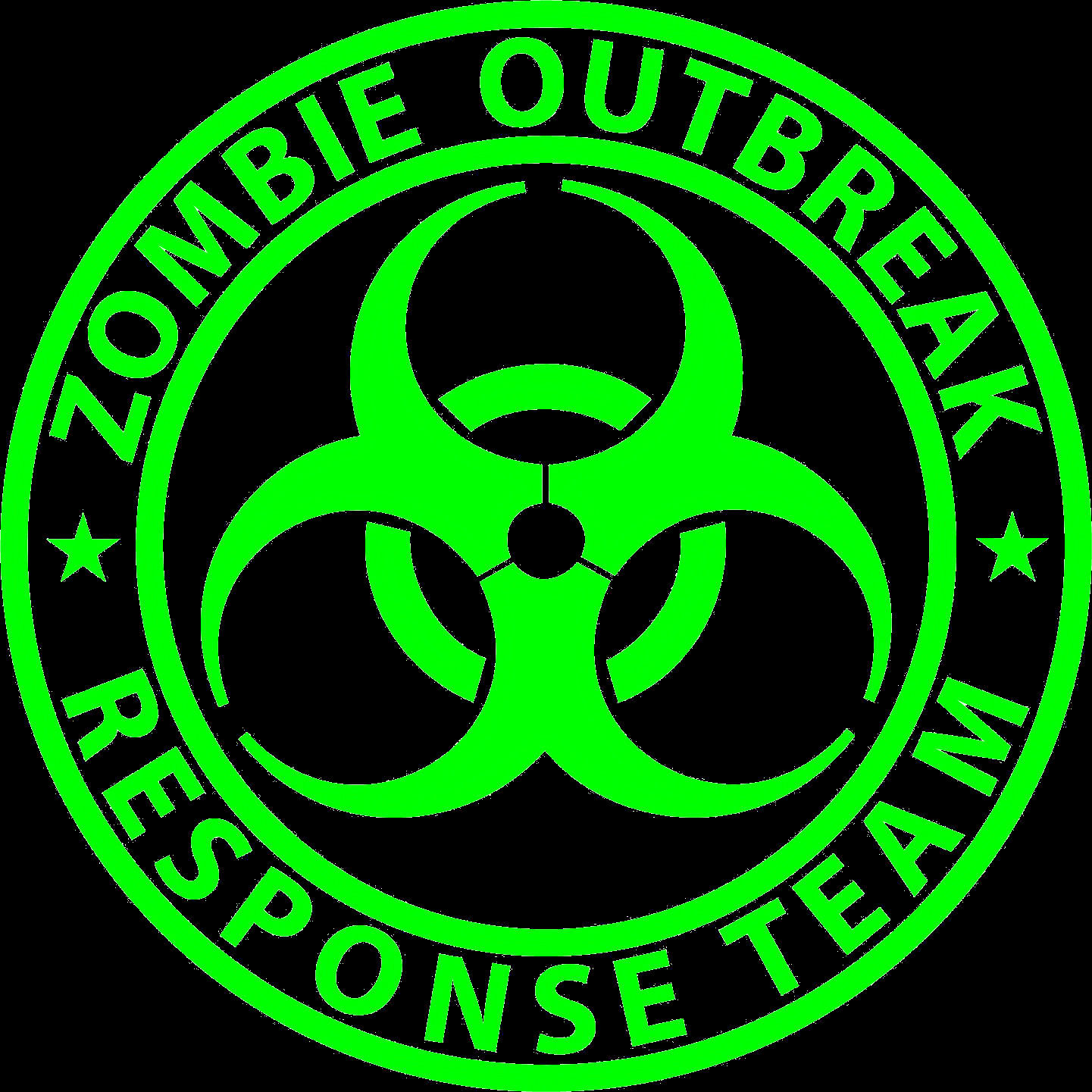 Zombie Out Brake Green.
