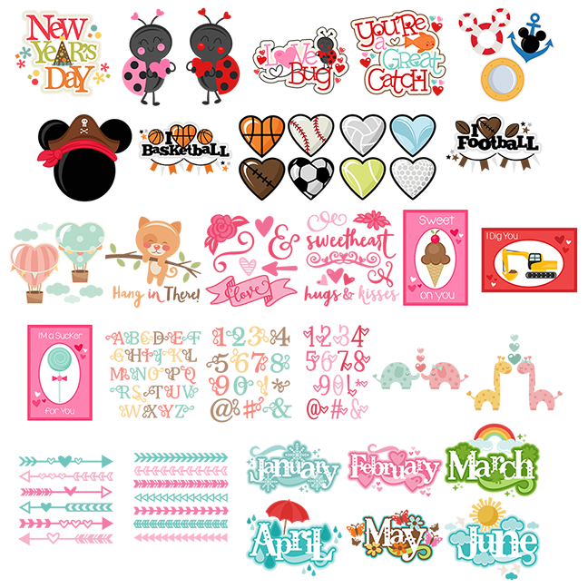 Miss Kate Cuttables January 2016 Freebies Free SVG files for.