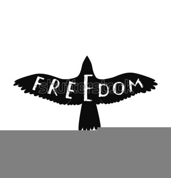 Eagle Of Freedom Clipart.