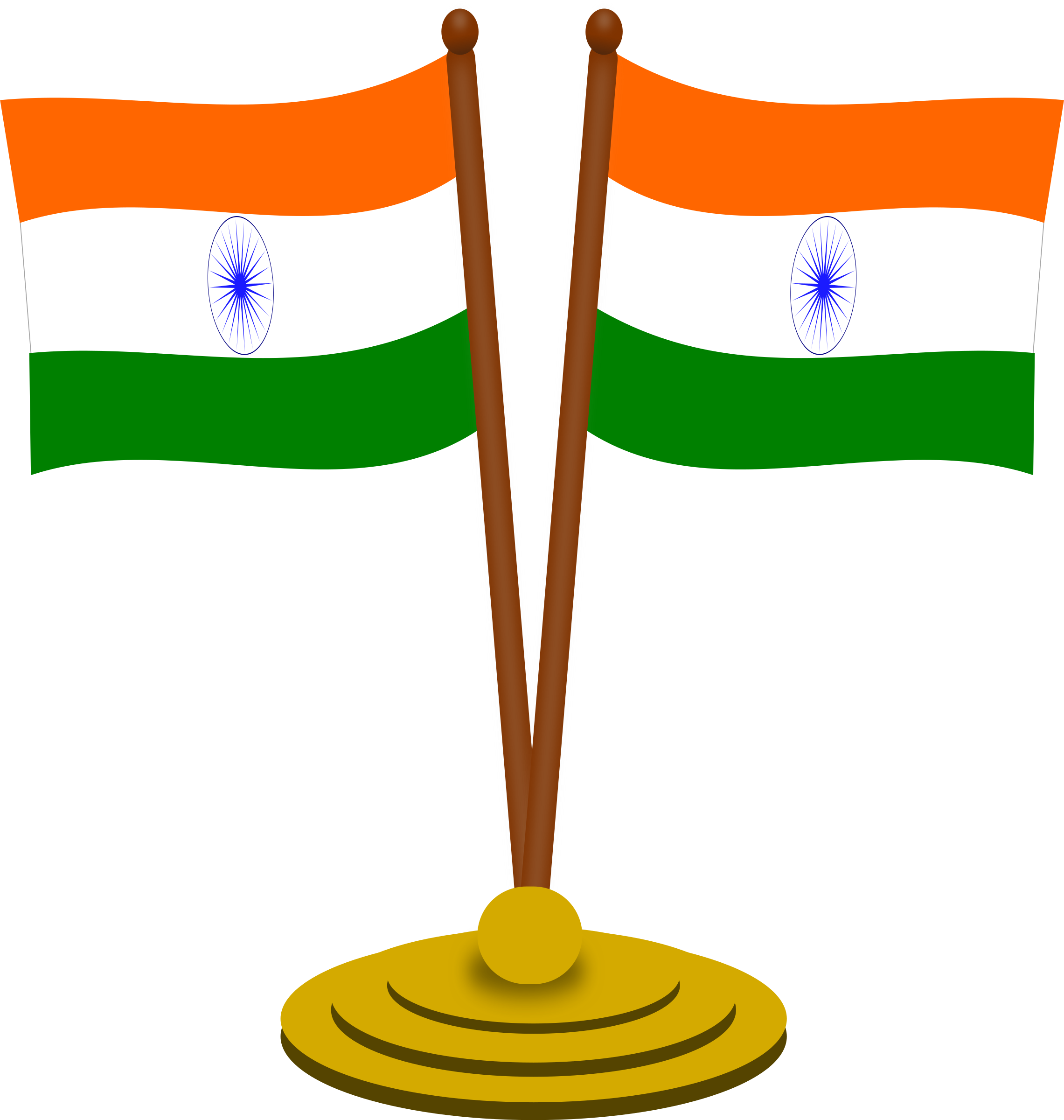 Clipart Flag Indian.