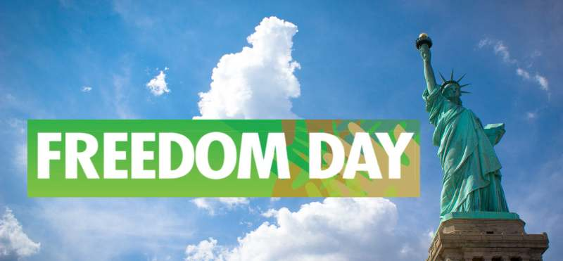 National Freedom Day Clipart.