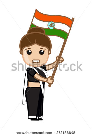Freedom Clipart Indian Flag.