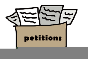 Freedom Of Petition Clipart.