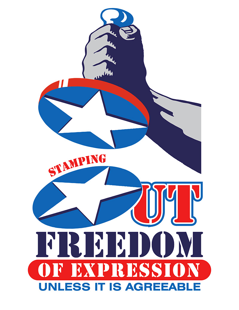 Freedom of Expression Vector Clip Art Graphic • FREE Now!.