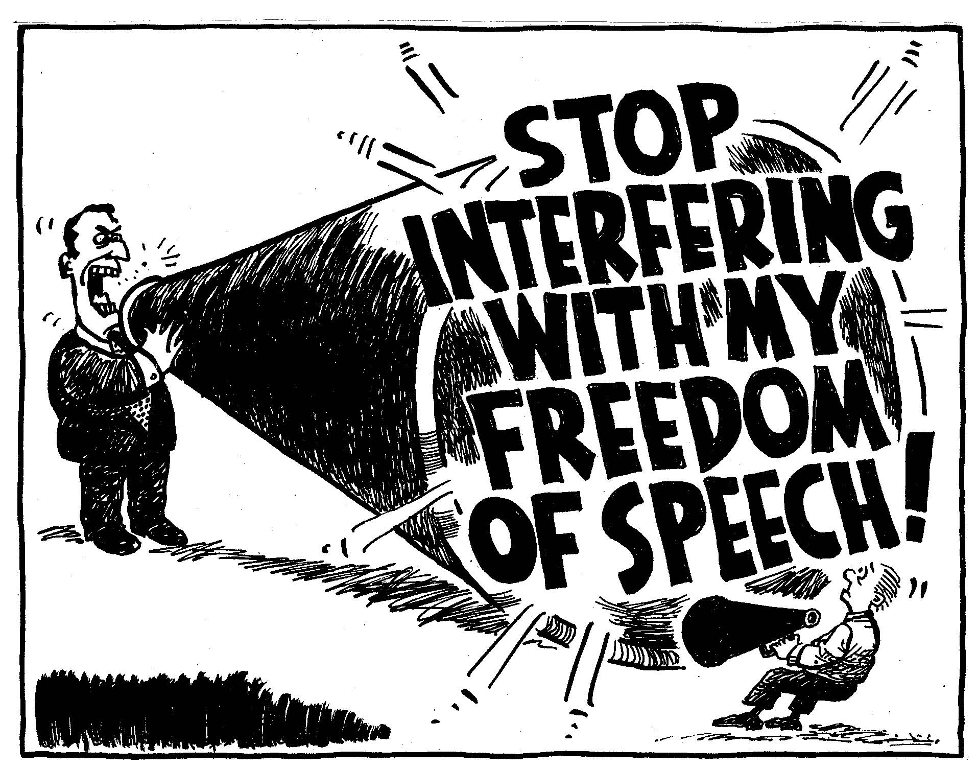 EXAMINING THE FREEDOM OF SPEECH & EXPRESSION.