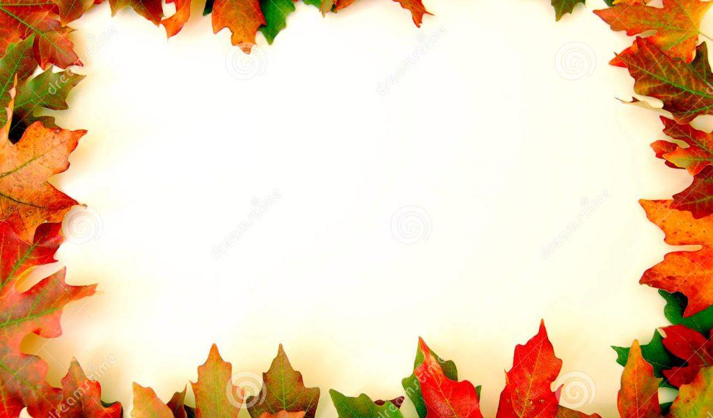 Free fall school clipart.