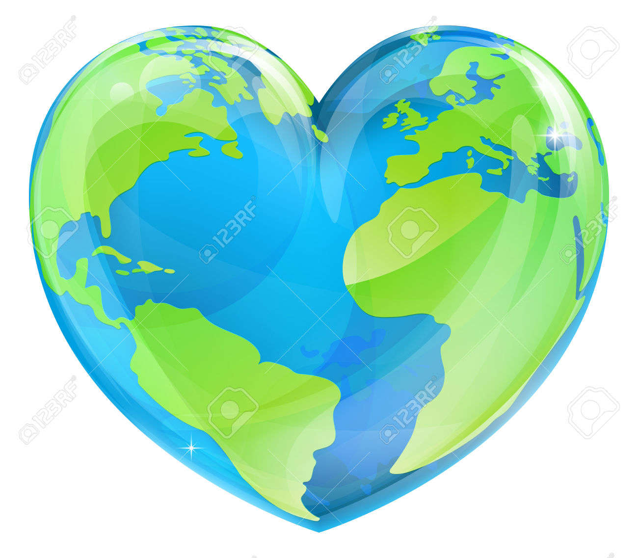 Heart Earth Images & Stock Pictures. Royalty Free Heart Earth.