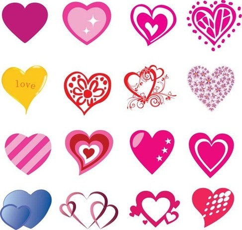 Heart shape vector free vector download (10,138 Free vector) for.