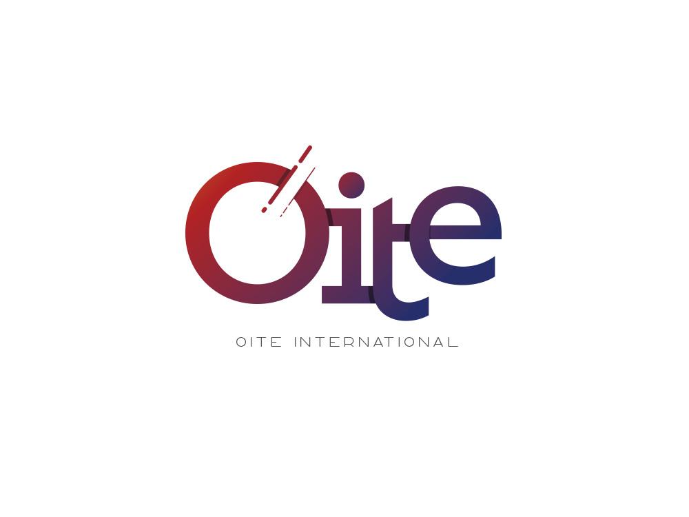 Oite International gradient logo design by Branding Area on.