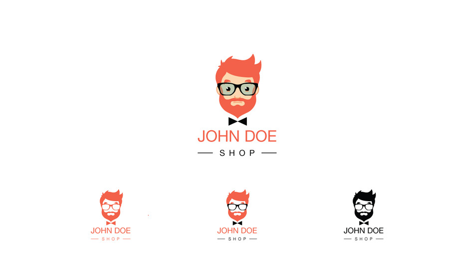 Entry #49 by tobyquijano for Design a Logo for John Doe.