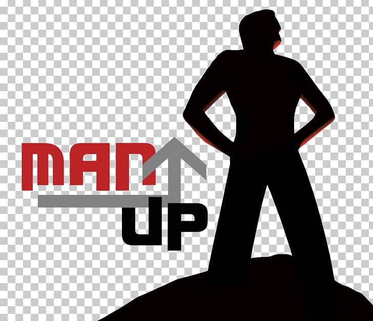 Logo YouTube Silhouette Man PNG, Clipart, Arm, Brand.