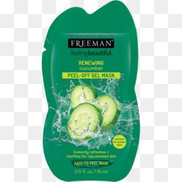 Freeman Feeling Beautiful Cucumber Peeloff Mask PNG and.