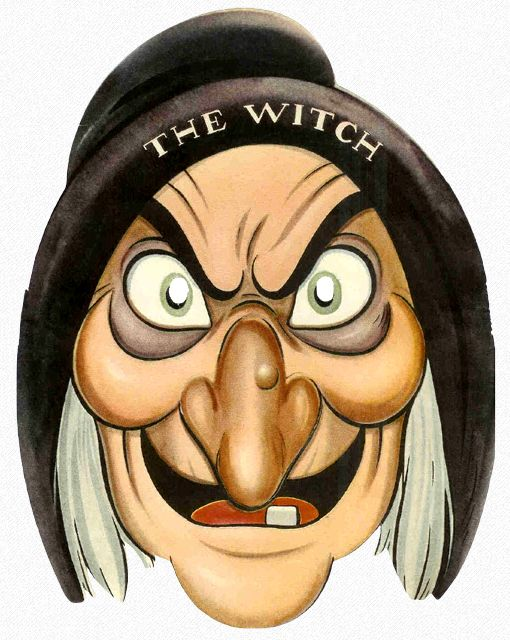 The Witch Paper Face Mask Einson.