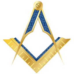Masonic Square and Compass clipart.
