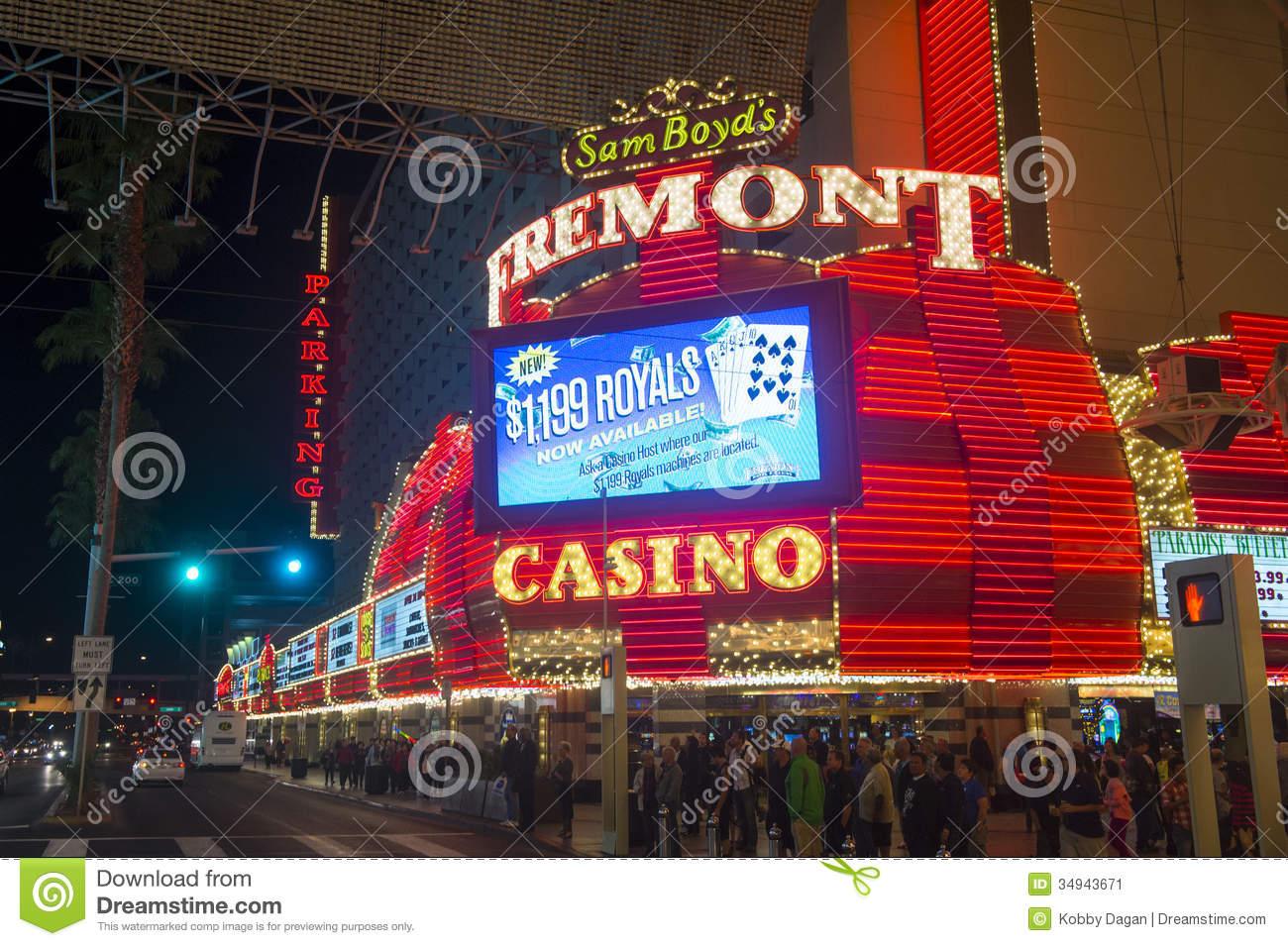 Las Vegas , Fremont Street Experience Editorial Photo.