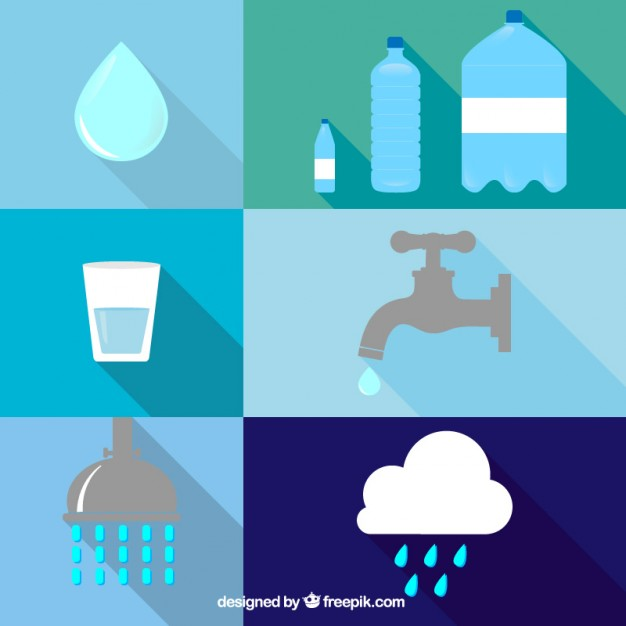 Water icons Vector.