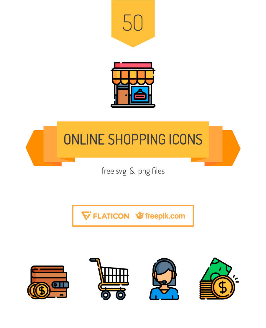 Shop till you Drop with the Freepik and Flaticon Online Shopping.