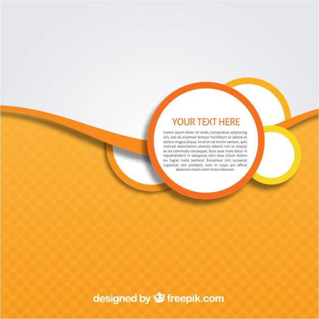 Abstract background template Vector.