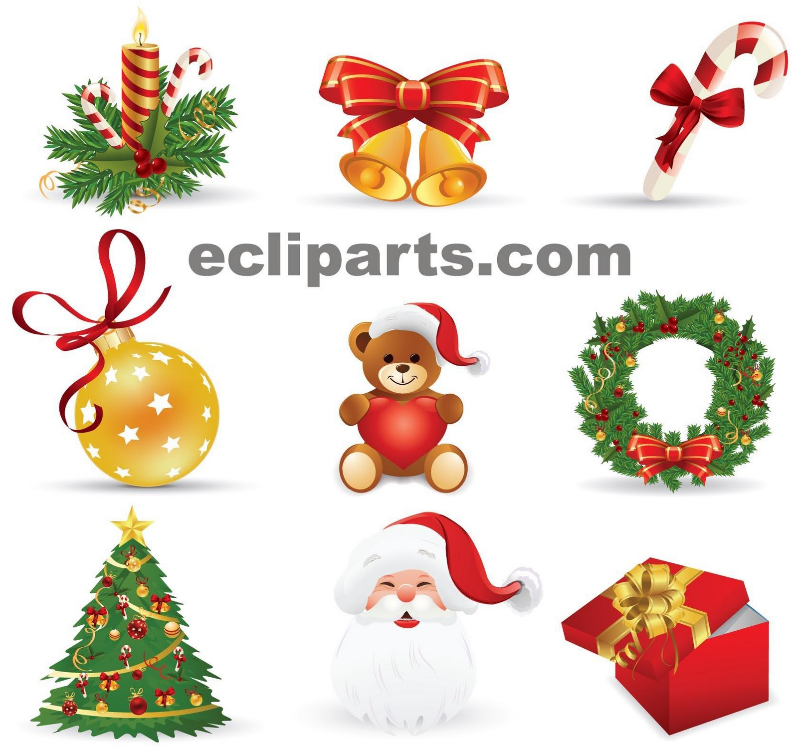 images free christmas clipart #8