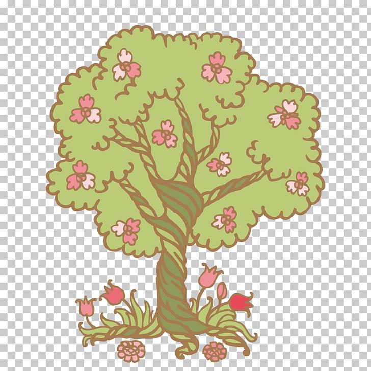Freeware , cartoon tree PNG clipart.