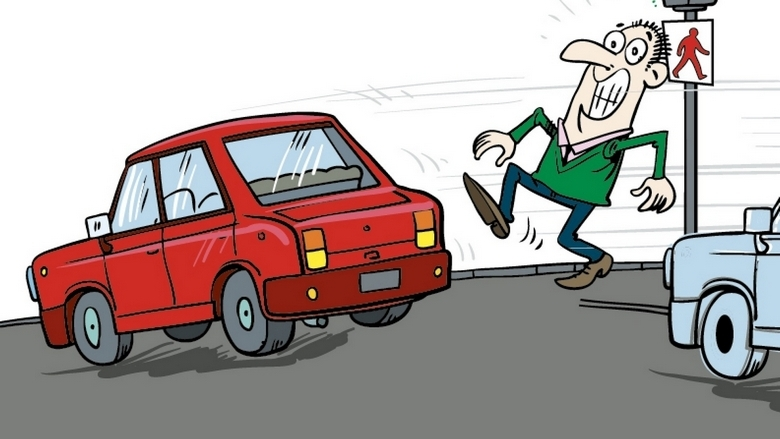 Beware: Strict safety rules, hefty fines against jaywalkers.