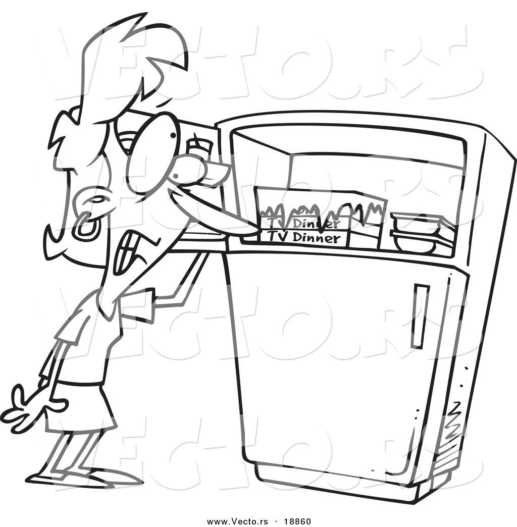 Freezer Clipart.