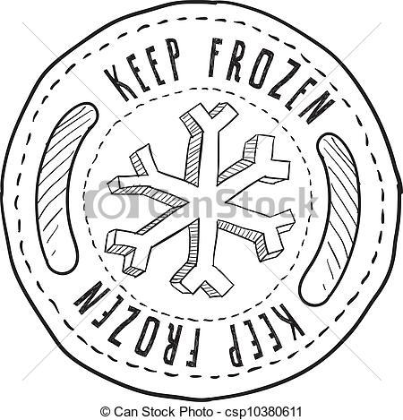 Clip Art Freezer Food.