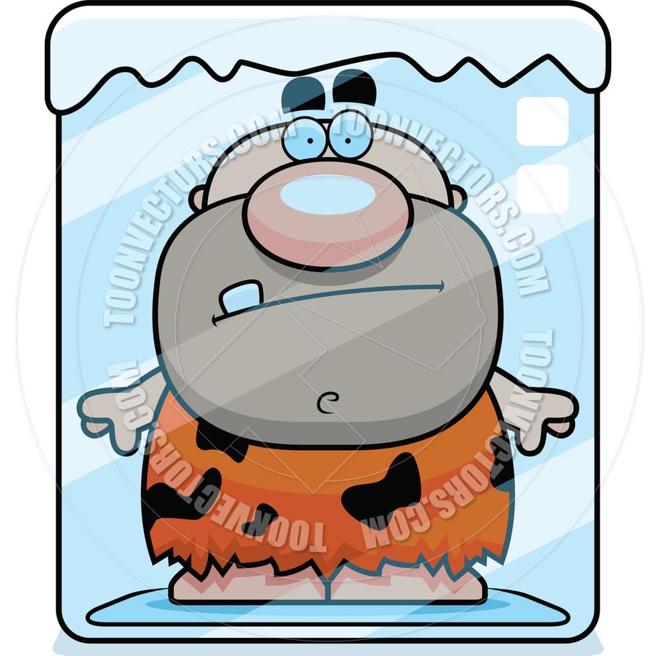 Frozen Person Clipart.