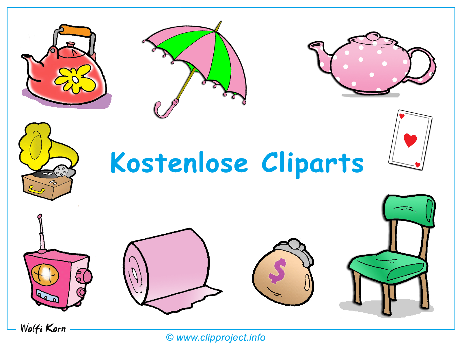 Freie Cliparts Homepage.