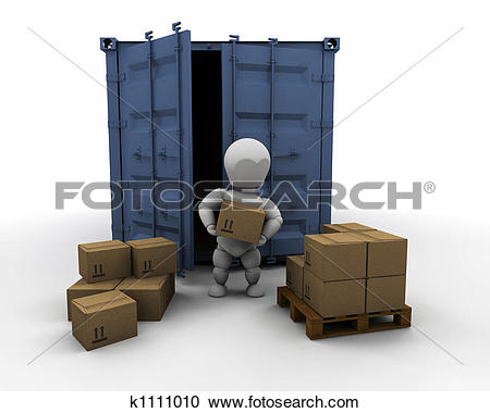 Clipart of online freight order tracking k6440431.