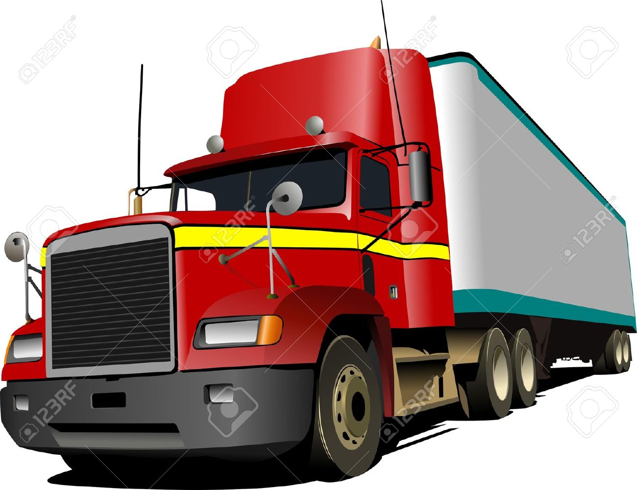 Showing post & media for Freight truck cartoon.