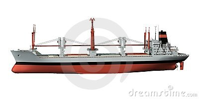 Freighter Stock Illustrations.