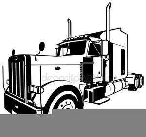 Trucks Freightliner Clipart.