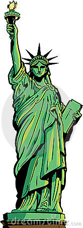 Statue Liberty Drawing Stock Photos, Images, & Pictures.
