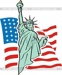 New york statue of liberty clipart.