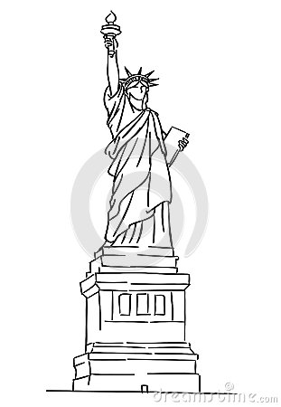 Statue Of Liberty Royalty Free Stock Image.