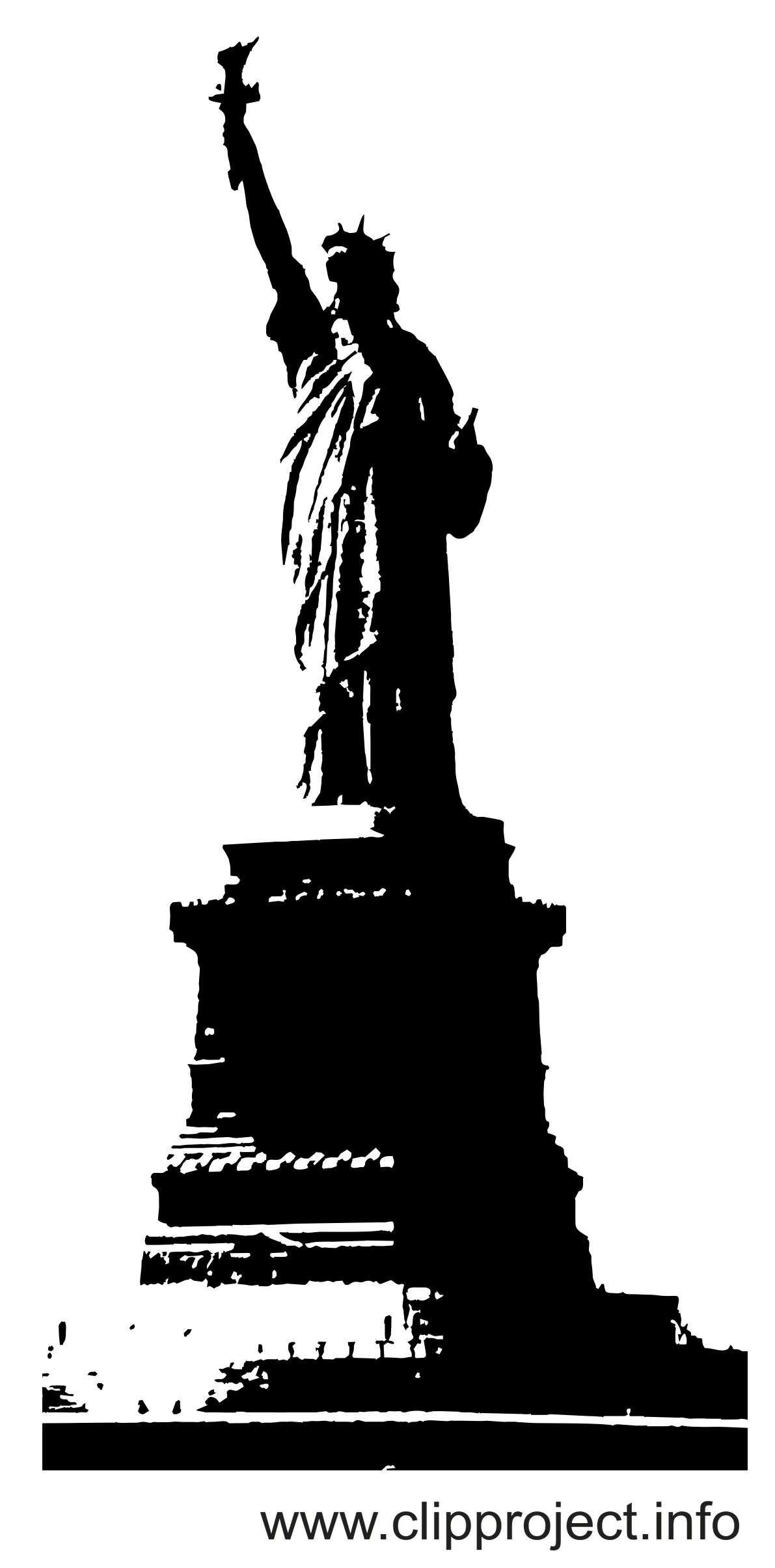 Freiheitsstatue Clipart.
