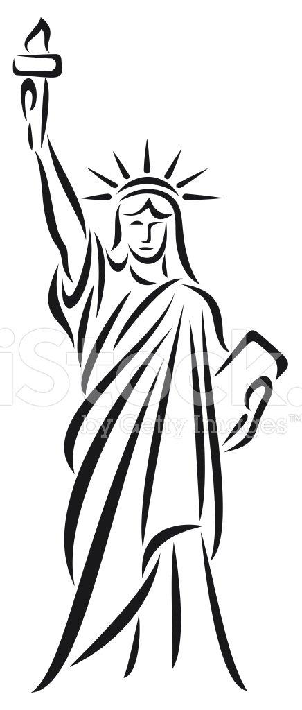 Freiheitsstatue Clipart Image.