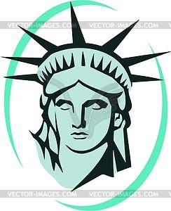 The Statue Of Liberty In New York Vector Image #SNGUbx.