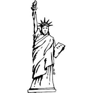 Statue Of Liberty Clip Art.