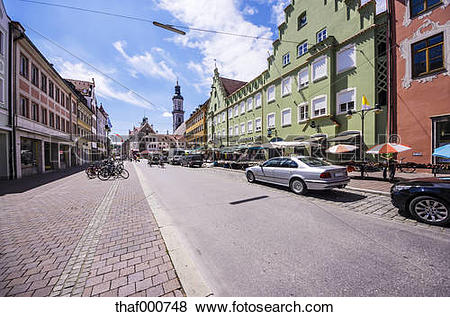 Pictures of Germany, Bavaria, Freising, Parish Church St. George.