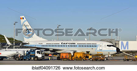 Stock Images of Boeing B737.