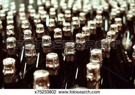 Stock Photo of Bodegas Freixenet. Cava production. San Sadurni d.