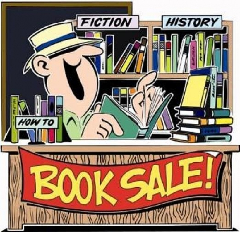 book sale clipart fremont area district library for clip art books.