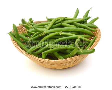 Green Beans Isolated Stock Photos, Royalty.
