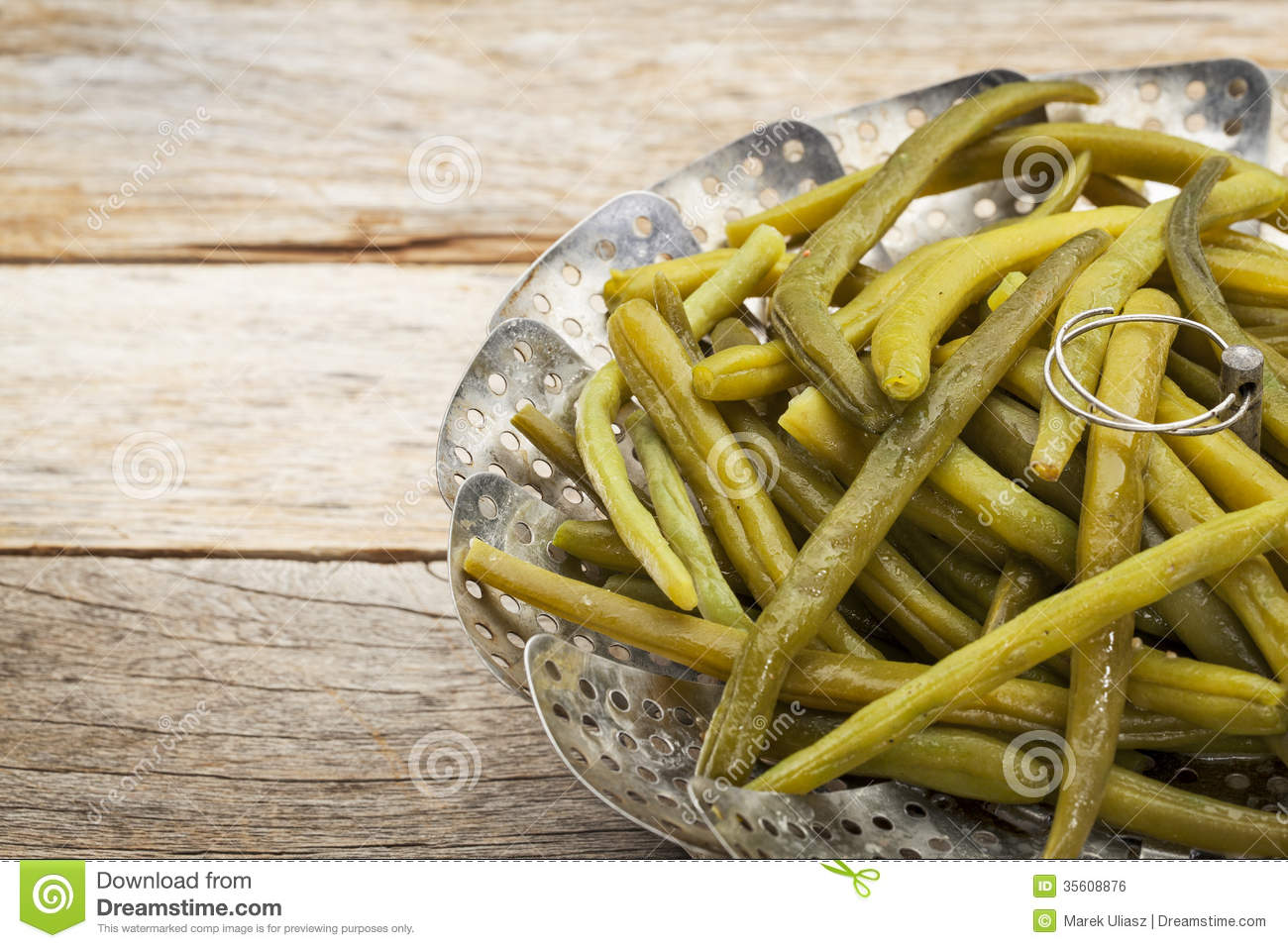 Cooked Green Beans Clipart.