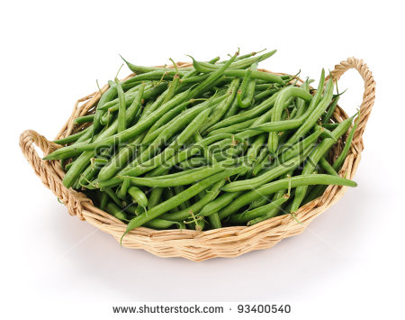 Green Beans Stock Images, Royalty.